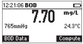 نحوه ی محاسبه ی BOD در دستگاه HI98193 1