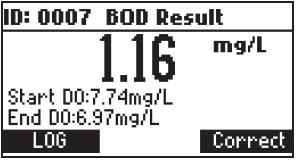 نحوه ی محاسبه ی BOD در دستگاه HI98193 13
