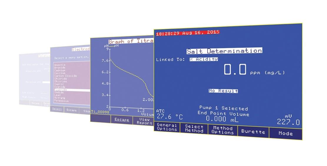 تیتراتور اتوماتیک پتانسیومتری HI902C 3