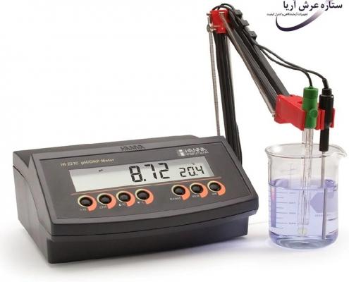 قیمت و خرید پرفروشترین pH متر رومیزی HANNA HI2211
