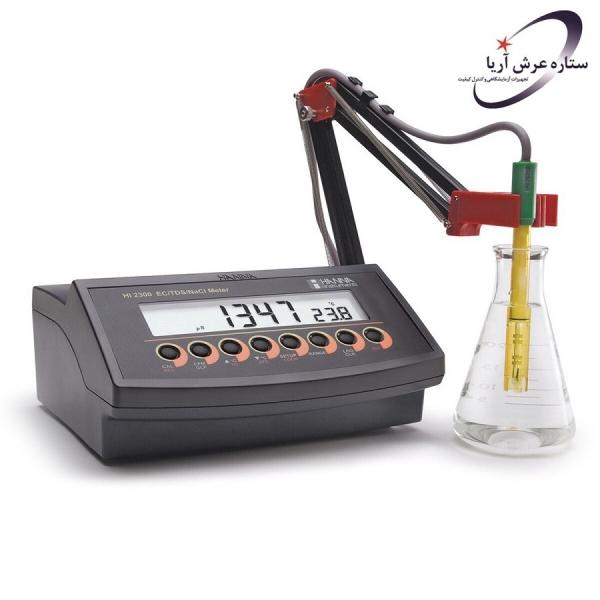 EC/TDS/شوری سنج رومیزی HI2300