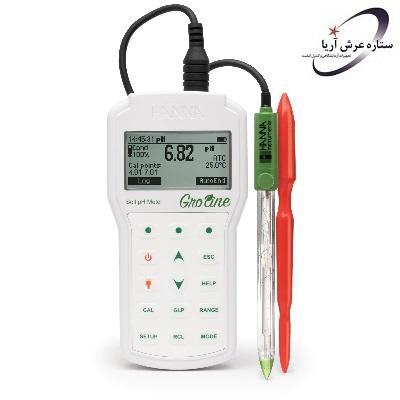 pH متر پرتابل خاک HI98168